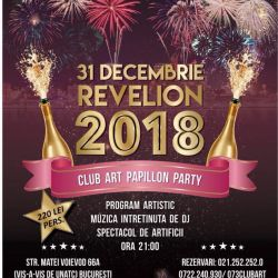 Meniu Revelion Club Art Papillon